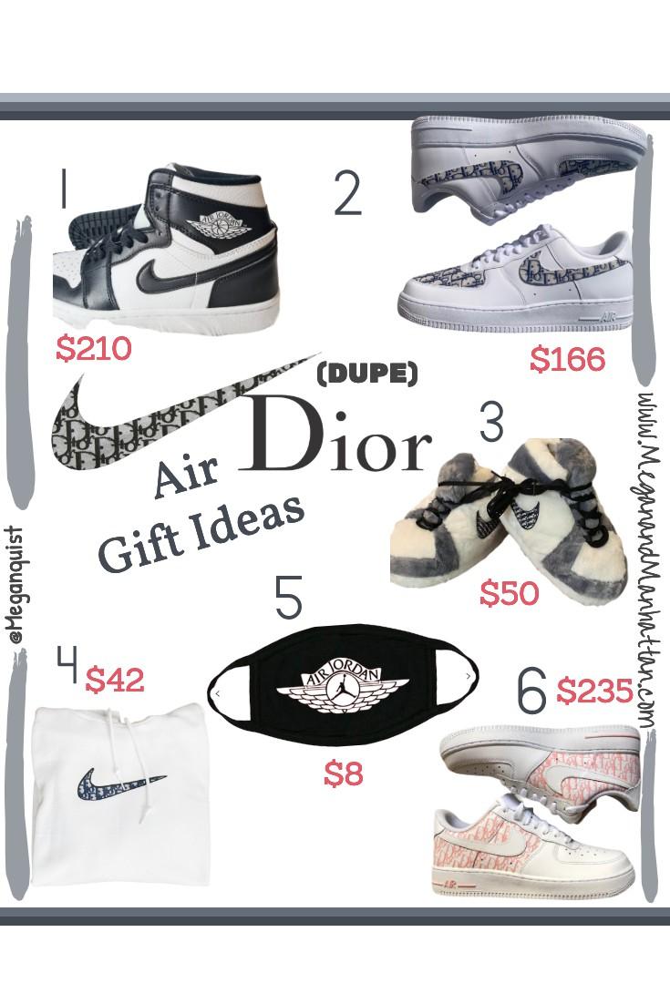 Air Jordan Dior Dupe Gift Ideas Under $50 | Under $100 | Under $200