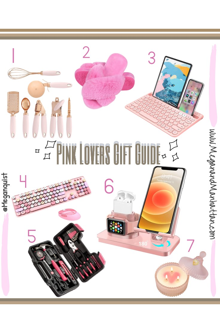 Pink Lovers Gift Guide