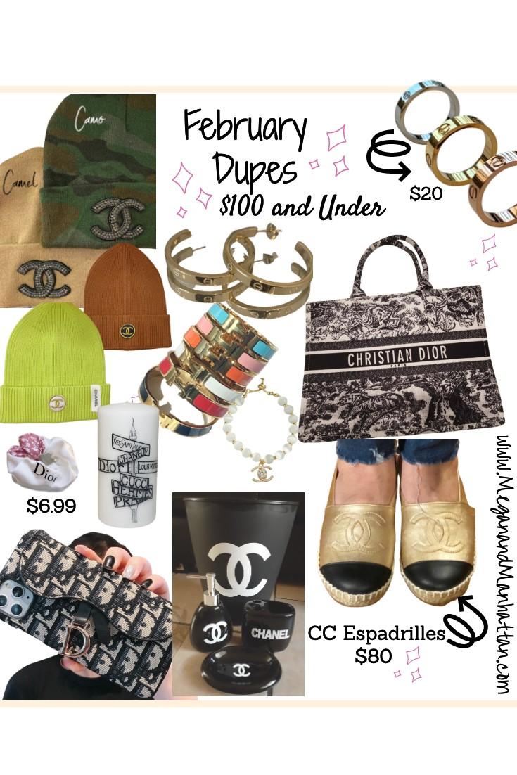 February Dupes Designer Dupes Under $100
