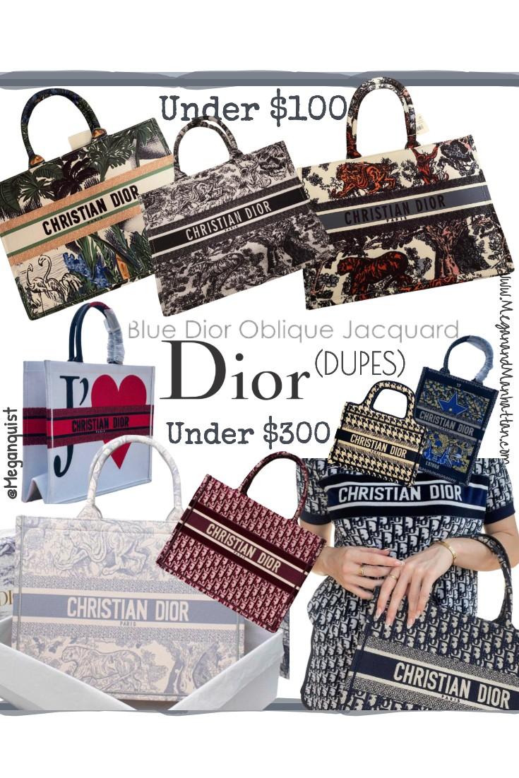 Dior Oblique Tote Dupes